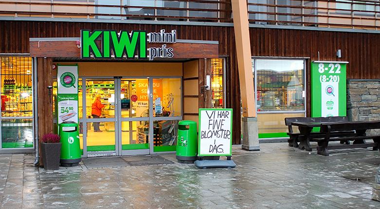 Ypperlig Kjapt, trygt og billig hos Kiwi Hovden   Kiwi Hovden RQ-55