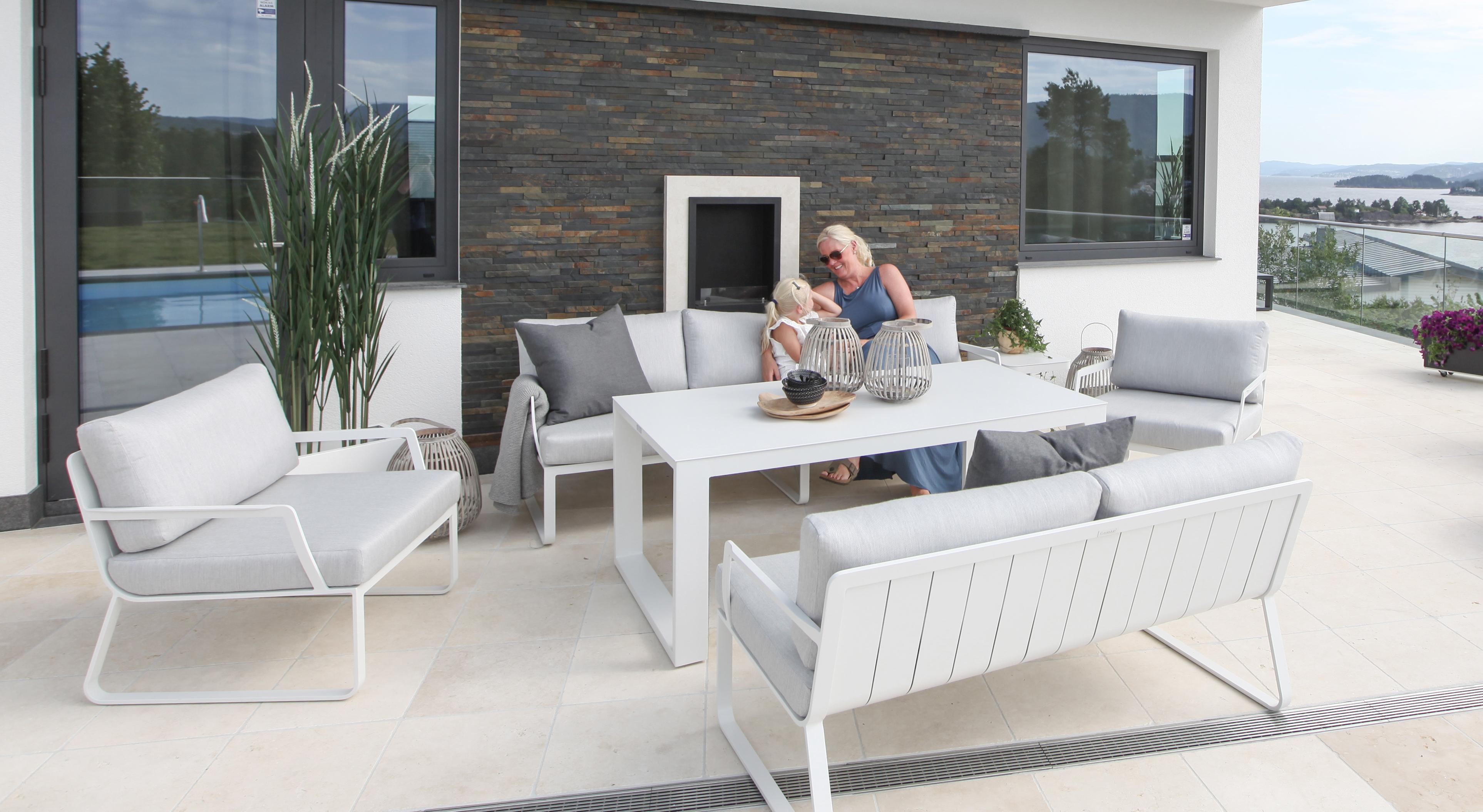 Fine design Profesjonell hjelp ved valg av utemøbler